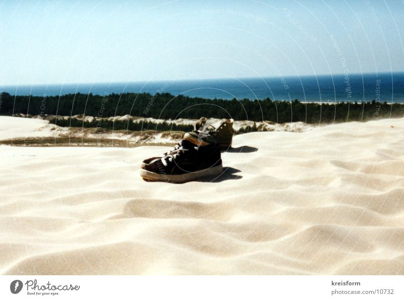 Shoes Footwear Beach Things Sand Desert