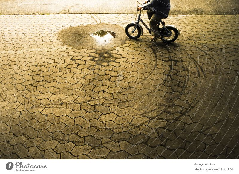 Joy Freedom Bicycle Dirty Wet Free Driving Bans Puddle Brash Cycling Protest Resist Rebel Headstrong Disobedient