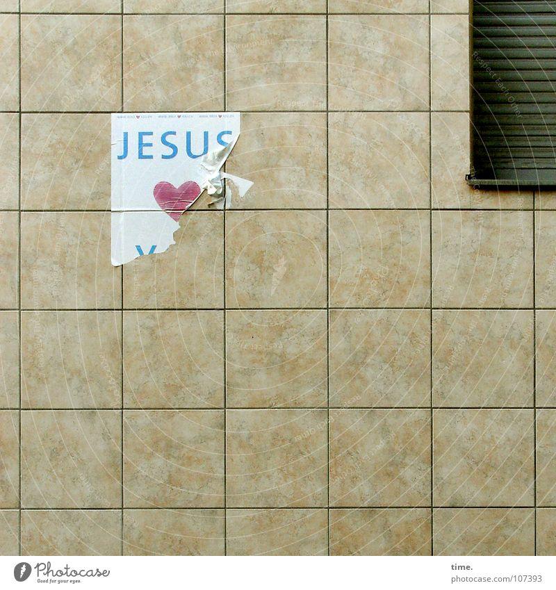 Window Wall (building) Love Religion and faith Back Decoration Heart Broken Belief Tile Monument Square Landmark Argument Piece of paper Connect