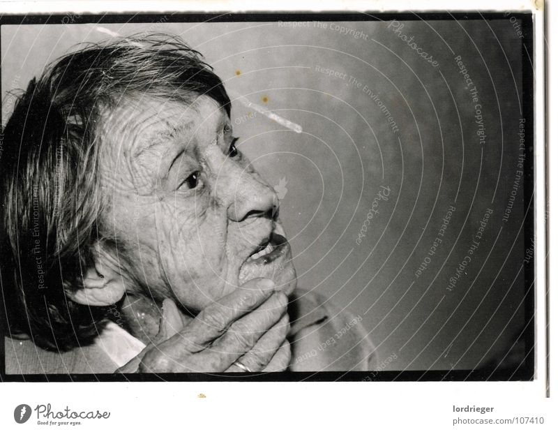 100 years of life Great grandmother Woman Hand Memory Past Senior citizen Longing Far-off places Paradise Light Old Black Photography Grandmother Human being