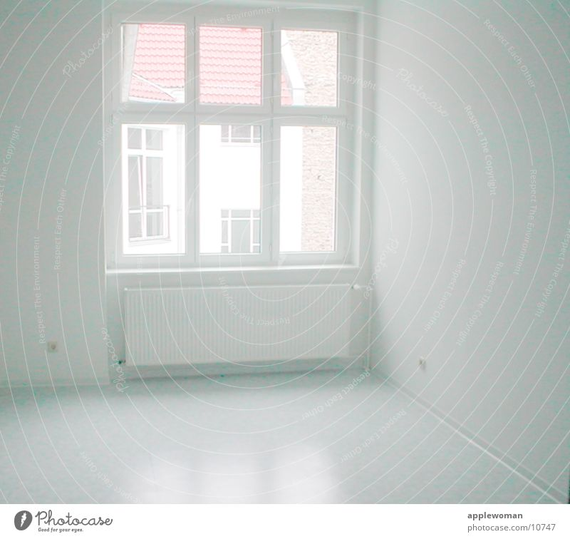 House (Residential Structure) Window Bright Room Architecture Empty Overexposure