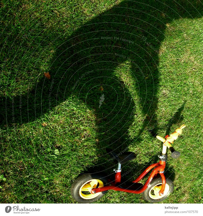 Child Joy Playing Dream Driving Lawn Lie Past Surrealism Coil Really Present Day Scooter Shadow play Motorcyclist