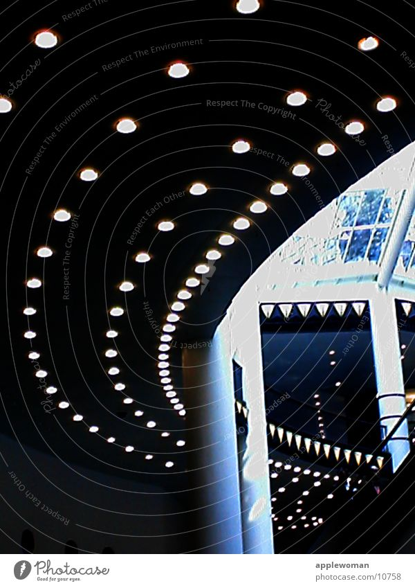light railways Dark Architecture quarter 206 Light Room Stairs Column