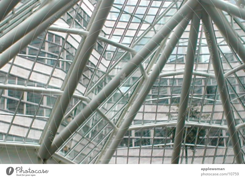 Window Architecture Glass Roof Skeleton