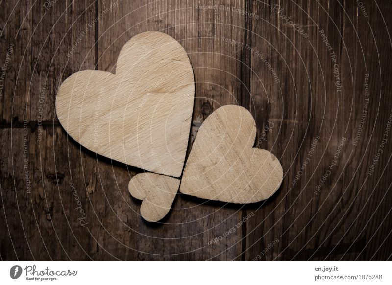 Emotions Love Happy Wood Brown Together Birthday Happiness Joie de vivre (Vitality) Heart Sign Romance Friendliness Infinity Wedding Kitsch