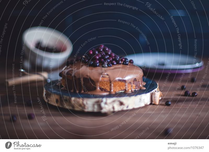 Brown Fruit Nutrition To enjoy Sweet Delicious Candy Cake Dessert Chocolate Blueberry Tasty Gluttony Sin Rich in calories Emotions