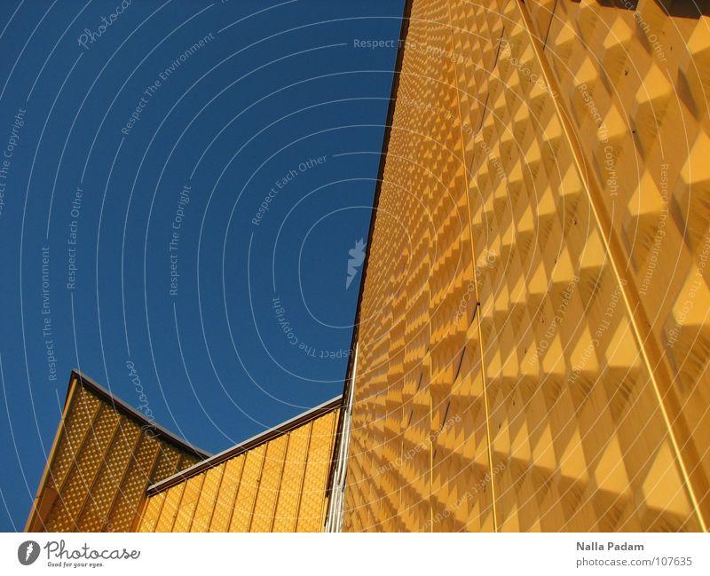 Sky Blue Yellow Berlin Wall (building) Wall (barrier) Architecture Modern Berlin zoo Berlin Philharmonic