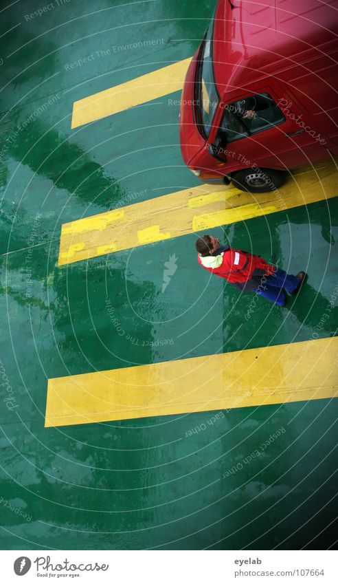 Human being Man Water Ocean Green Yellow Lake Car Rain Footwear Line Legs Watercraft Weather Wet Transport