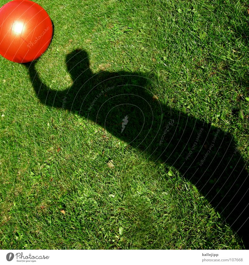 Sun Red Playing Dream Lie Earth Lawn Past Driving Ball Sphere Gate Surrealism God Throw Planet