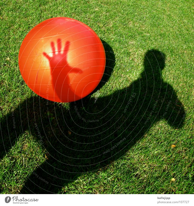 Child Sun Red Playing Dream Lie Earth Lawn Past Driving Ball Sphere Gate Surrealism God Throw