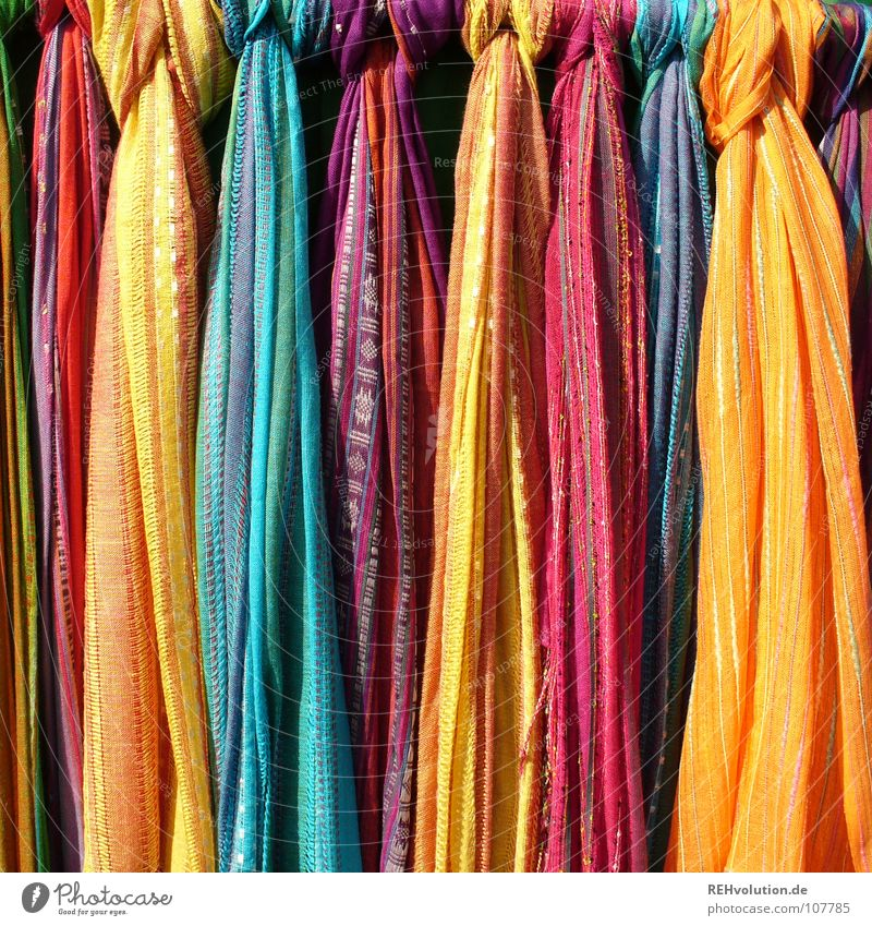 Summer Colour Art Clothing Fresh Happiness Stand Culture Stripe Cloth Craft (trade) Hang Markets Rag Knot Goods