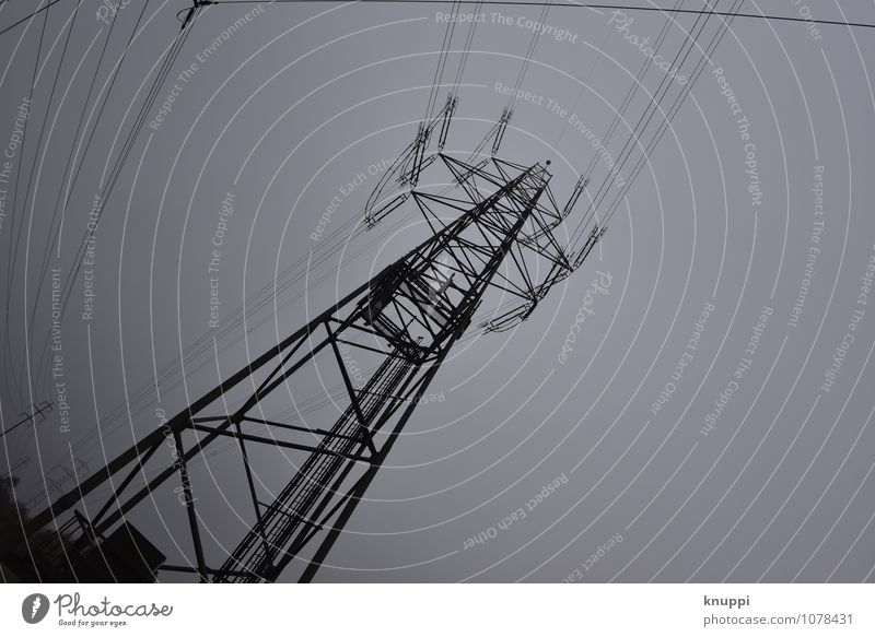 Dark Black Gray Energy industry Technology Europe Telecommunications Future Electricity Industry Cable Internet Information Technology Science & Research Switzerland Electricity pylon