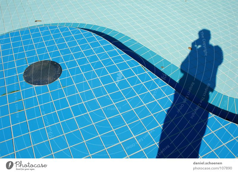 Water Blue Colour Line Background picture Empty Tile Cyan Drainage Swing Open-air swimming pool Curved Light blue Wavy line