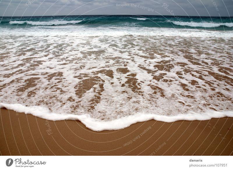 Ocean Beach Cold Sand Waves Turquoise Foam White crest Ibiza Formentera