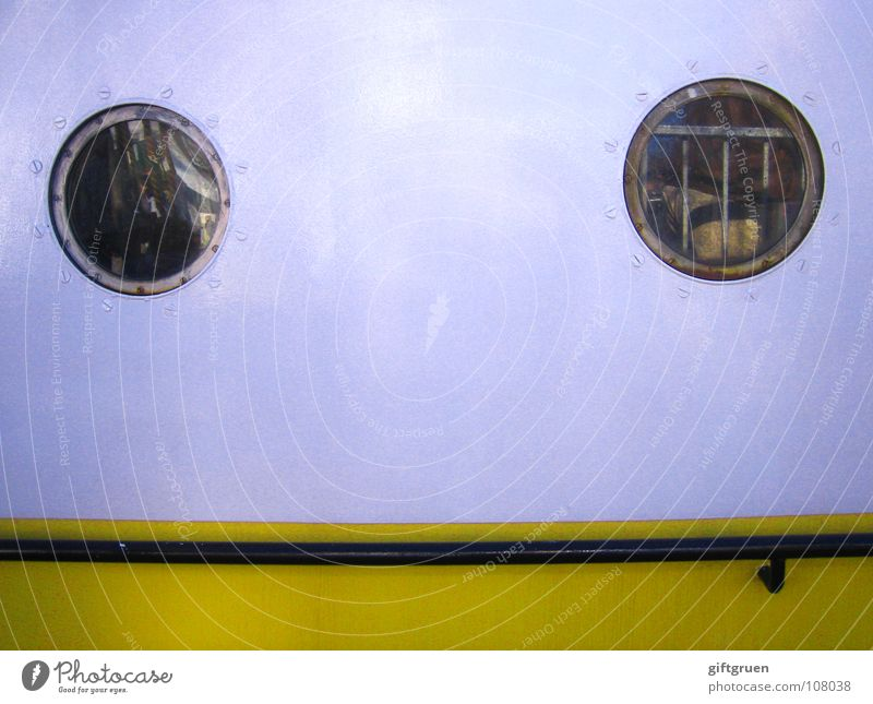 Water White Yellow Window Watercraft Mouth Glass Round Harbour Handrail Navigation Human being Rod Deck Porthole