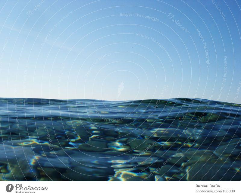 Water Sky Ocean Blue Stone Waves Horizon France Jellyfish Salt Salty