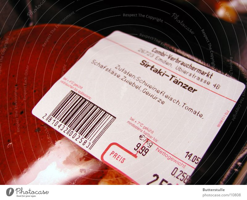Nutrition Meat Packaging Snapshot