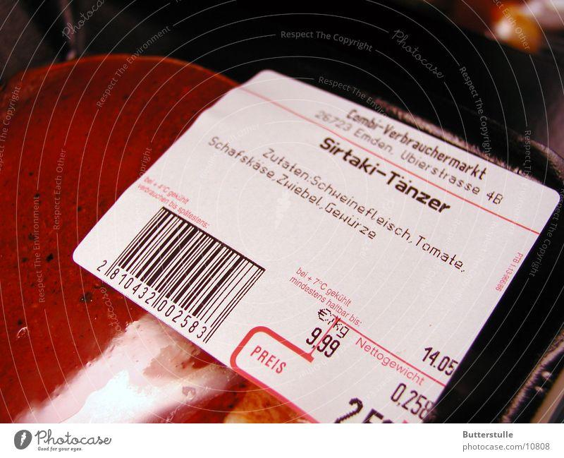 Sirtaki dancer Meat Packaging Snapshot Nutrition lost property