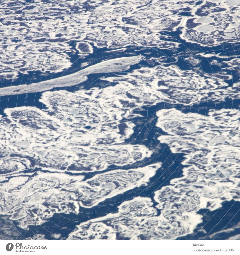 Blue White Water Cold Environment Snow Exceptional Flying Ice Esthetic Elements Infinity Frost Frozen Freeze Bizarre