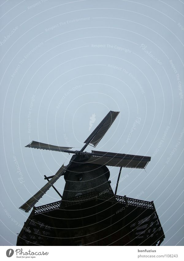 would-be pilots Potsdam Far-off places Europe Wind Beautiful Romance Speed Slowly Rotate Movement Windmill Mill Clouds White Clean Black Dark Calm Under
