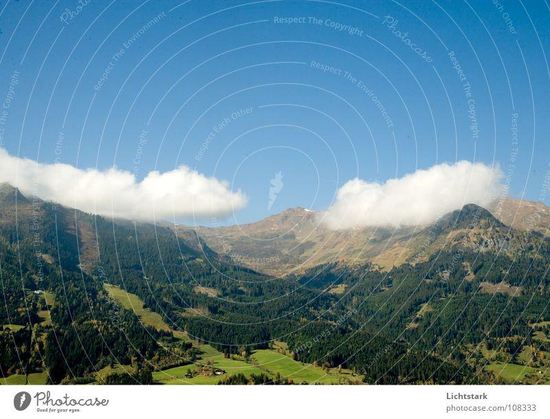 Sky Vacation & Travel Clouds Autumn Mountain Air Hiking Trip Clean Austria Alpine pasture Blue sky October Salzburg