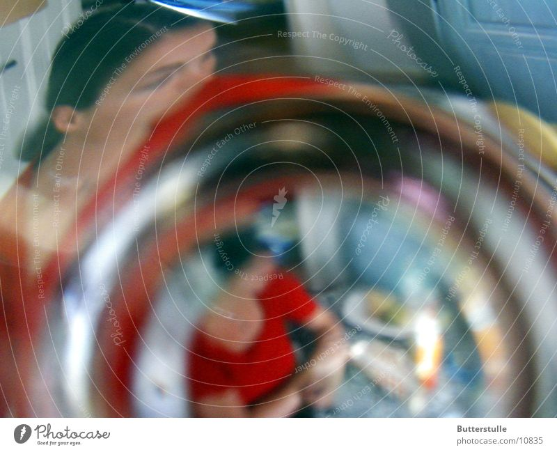 ::: blurred ::: Photographic technology Blur Distorted Human being Glass