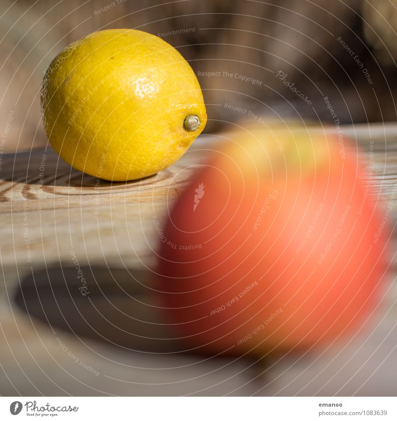 fruit table Food Fruit Apple Nutrition Organic produce Juice Healthy Healthy Eating Furniture Table Sour Yellow Red Lemon Citrus fruits Tree of knowledge
