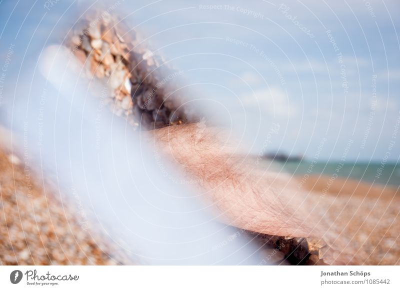 Brighton VIII Beautiful weather Esthetic England Beach Pebble beach Reflection Prism Abstract Experimental Health Spa Vacation destination Vacation & Travel