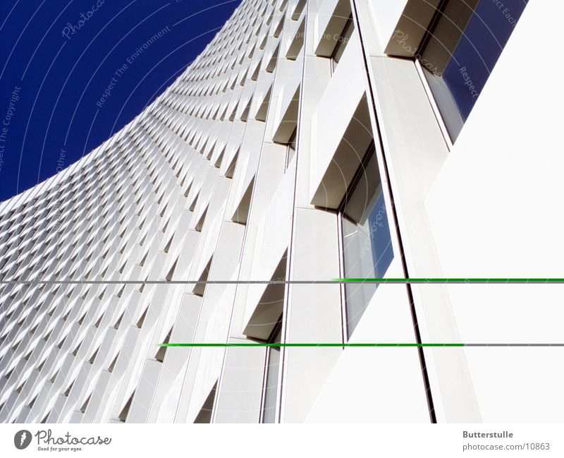 Architecture High-rise Distorted Housefront