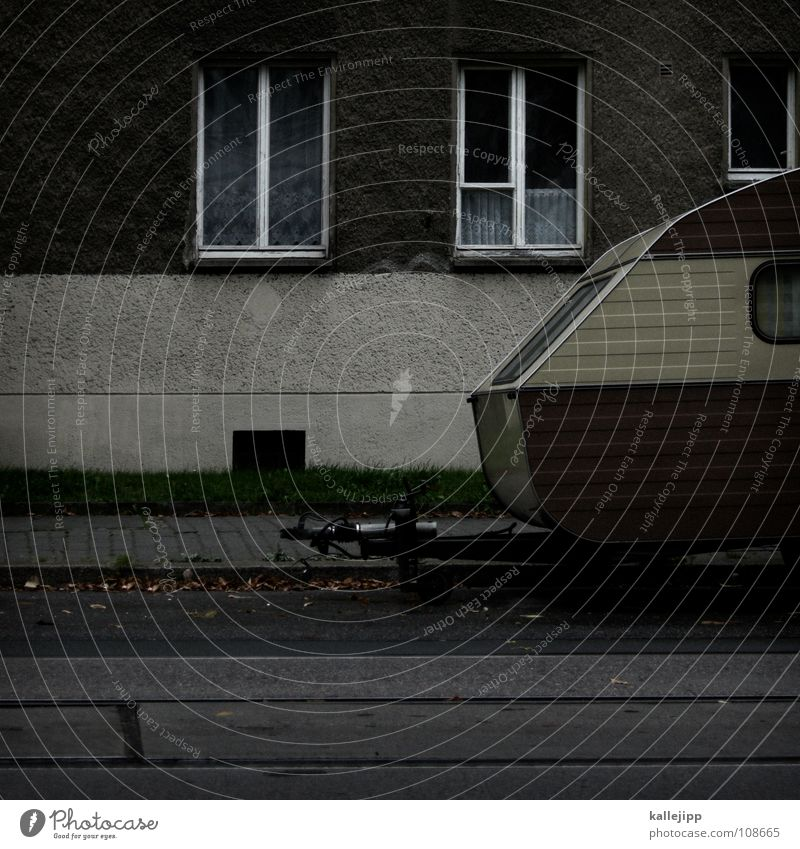 Vacation & Travel Relaxation Window Life Architecture Room Flat (apartment) Facade Living or residing Parking Camouflage Carriage Caravan Parking space
