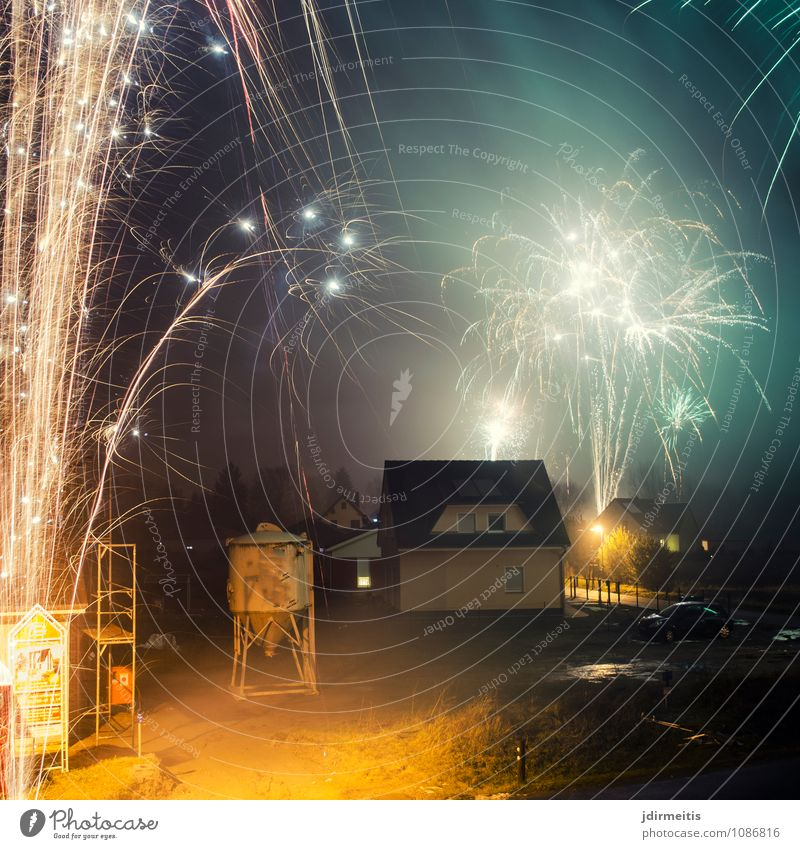 New Year's Eve Feasts & Celebrations Village Small Town House (Residential Structure) Detached house Building Architecture Leisure and hobbies Joy Firecracker