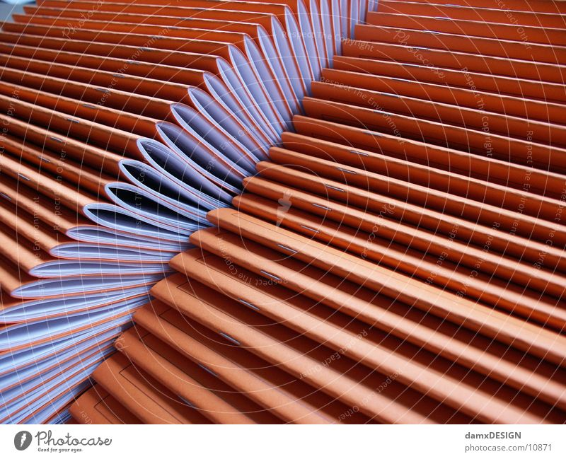 Orange Things Paper Magazine Pressure Printed Matter Media Digital printing