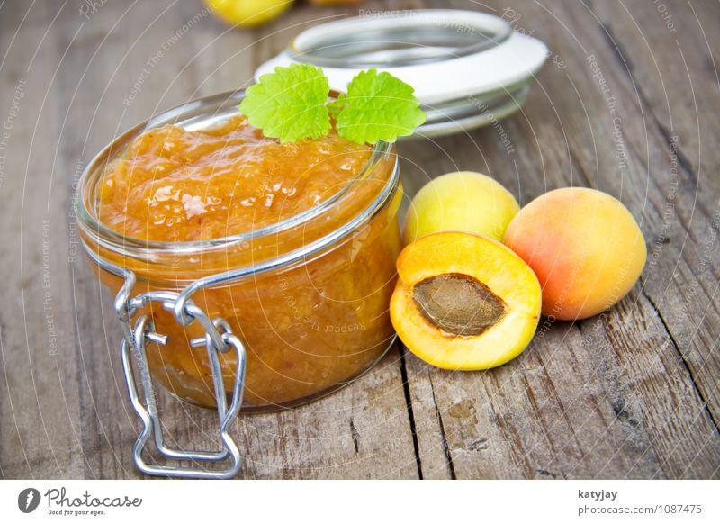 Background picture Fruit Breakfast Diet Dessert Jam Conserve Mint Apricot Peach Preserving jar Pomacious fruits Stone fruit Breakfast table Jam jar