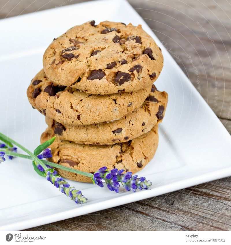 biscuits cookie cookies Americas Chocolate Brown Dish Eating Food photograph chocolate cookies Chocolate crumble Isolated Image Baked goods Calorie Sweet shop