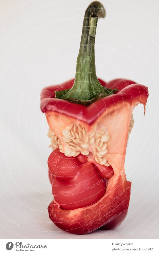 Green Red Small Art Food Nutrition Baby Threat Mother Vegetable Stalk Creepy Surrealism Pregnant Vegetarian diet Diet