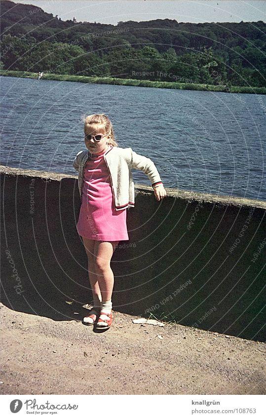 Child Summer Girl Pink Sunglasses Reservoir Rose glasses