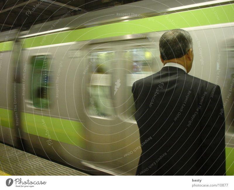japanese subway Japan Underground Man Human being