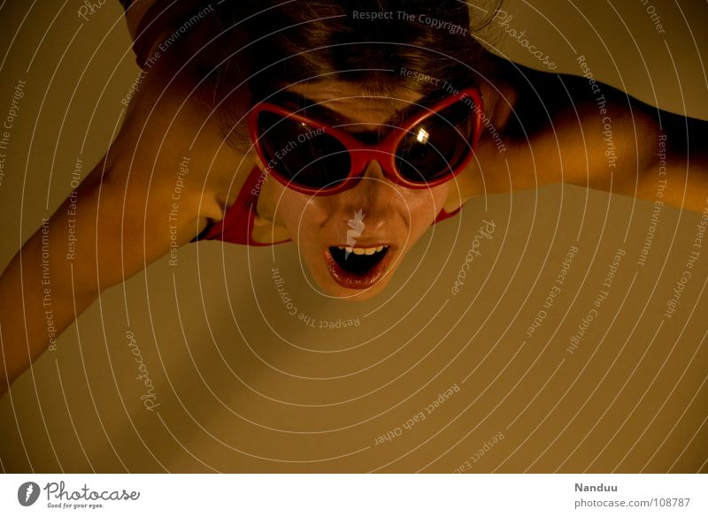 Woman Human being Red Adults Warmth Flying Dangerous Good Might Climbing Physics Insect Anger Brave Evil Sunglasses
