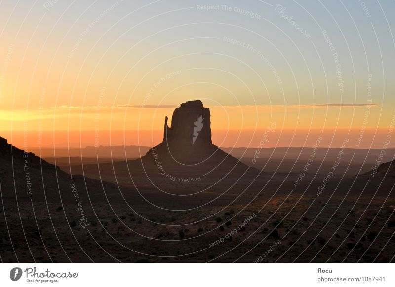 Beautiful Wild West sunrise at Monument Valley, Arizona USA Sun Nature Sky Park Natural Serene Navajo Reservation Indian Sunset Utah Native national Western