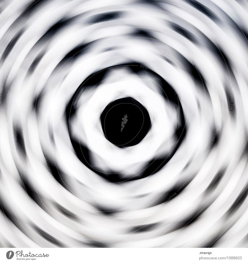 spin the wheel Style Design Ornament Line Circle Gyroscope Rotate Speed Crazy Black White Movement Irritation Hypnotic Go crazy Double exposure Center point