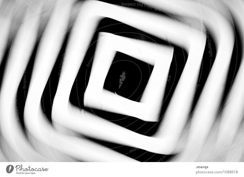 White Black Movement Line Crazy Speed Stress Irritation Square Rotate Intoxicant Ornament Perturbed Vertigo Gyroscope Hypnotic