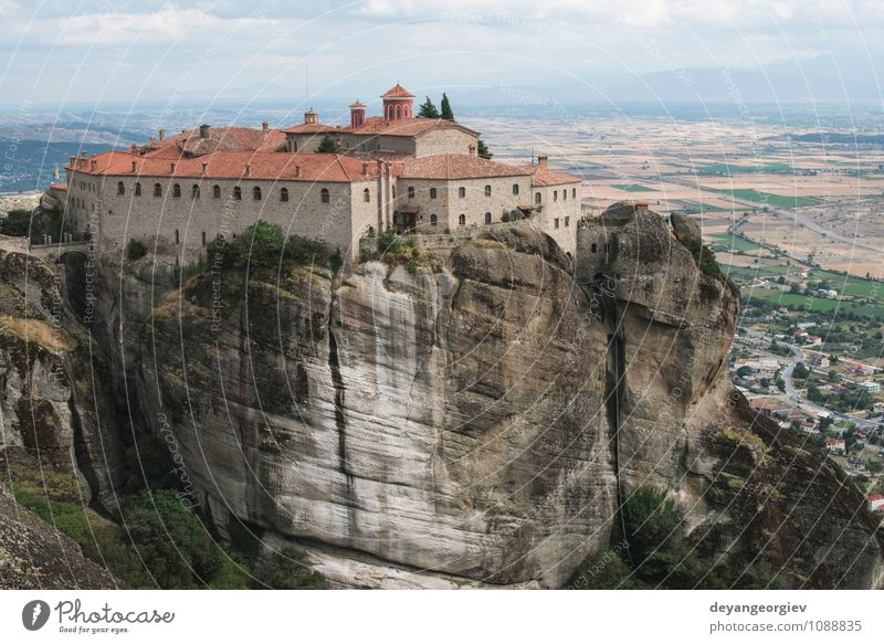 Meteora in Greece. Meteora is the monasteries Beautiful Vacation & Travel Tourism Summer Mountain Nature Landscape Forest Rock Church Architecture Old Belief