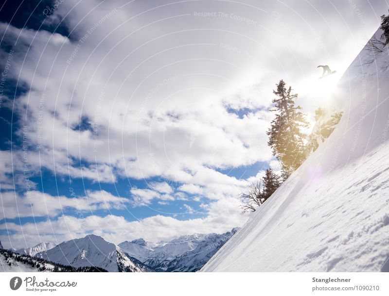 Sky Nature Blue White Sun Tree Winter Mountain Environment Snow Sports Rock Tall Climate Beautiful weather Peak