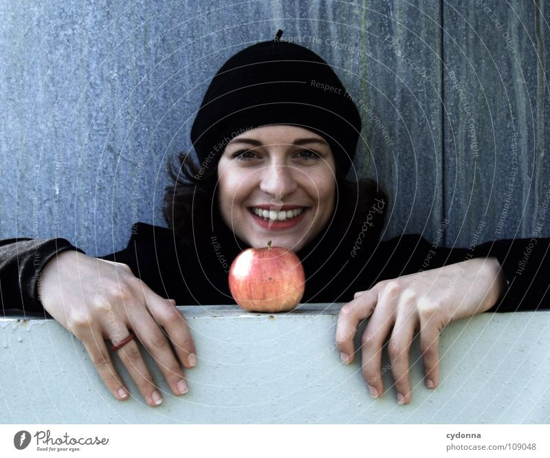Woman Human being Nature Beautiful Black Autumn Nutrition Food Style Laughter Fashion Weather Mouth Fruit Sit Natural
