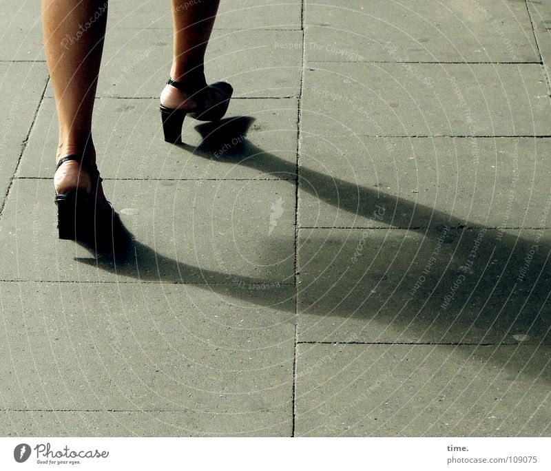 Woman Legs Footwear Adults Going Walking Concrete Speed Stairs Dynamics Traffic infrastructure Mammal Rotation Landing Paving tiles Mince