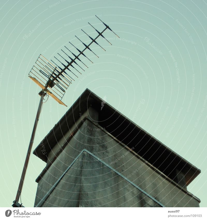 High-rise Roof Story Radiation Antenna Smog Shellfish Transmit Penthouse Frequency Broadcasting Transmission power