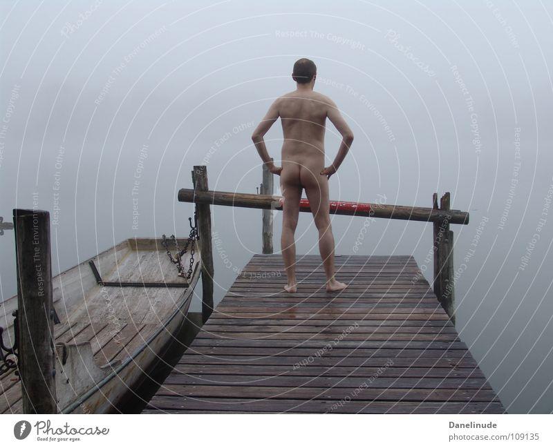 Man Naked Lake Nude photography