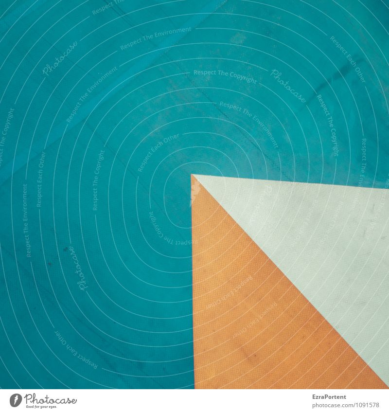 Blue Colour White Gray Line Orange Design Corner Point Illustration Plastic Graphic Sharp-edged Geometry Triangle