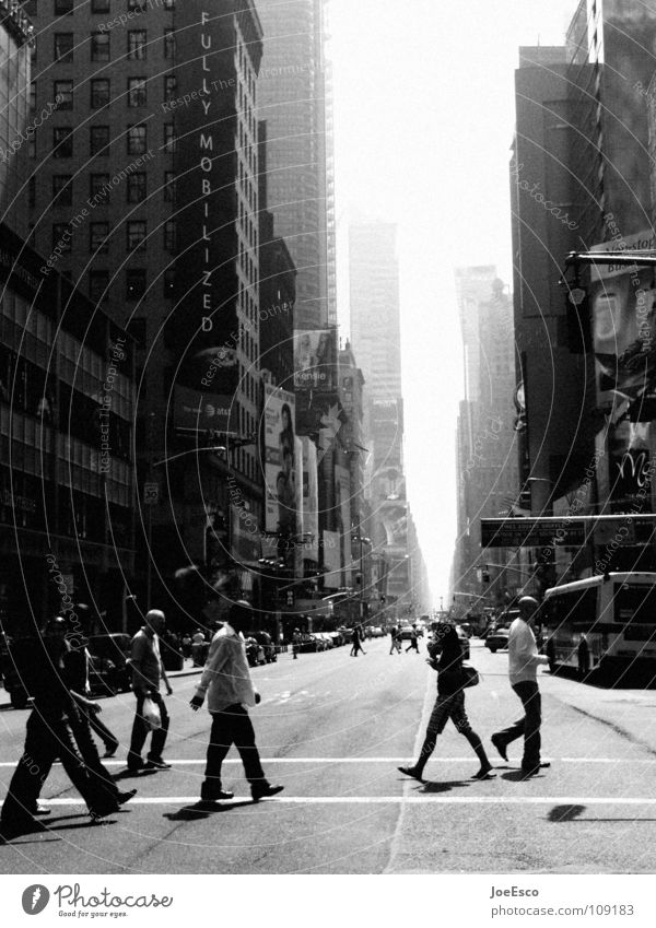 new york street life New York City USA Street life Town Human being Pedestrian Transport Vacation & Travel