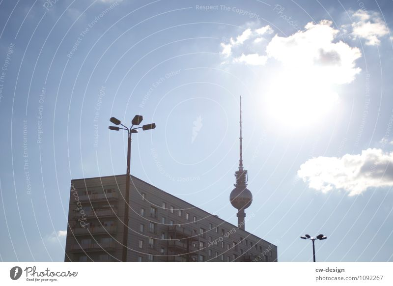 somewhere in berlin Capital city Downtown Skyline High-rise Places Tower Manmade structures Building Architecture Facade Tourist Attraction Landmark